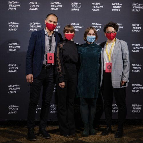 """Prasidėjo 15-asis dokumentinių filmų festivalis """"Nepatogus kinas""""  © K. Polubinskos nuotr."""