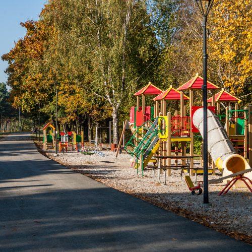 Nesutvarkytas Santakos parkas  © Laimio Steponavičiaus nuotr.