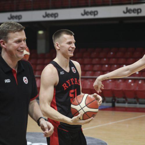 """Vilniaus """"Ryto"""" krepšinio klubo sezono pristatymas  © M. Morkevičiaus / ELTOS, G. Skaraitienės / Fotobanko nuotr."""