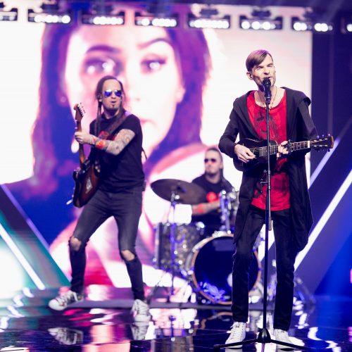 """Pirmoji nacionalinės atrankos į """"Euroviziją"""" laida"""