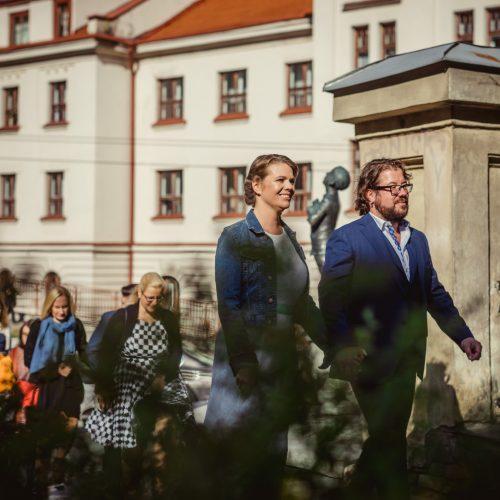 Aktoriaus J. Griciaus vestuvės  © I. Gelūno / Fotobanko nuotr.