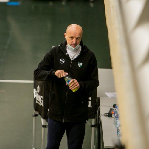 Pirmoji žalgiriečių treniruotė su naujuoju treneriu  © Vilmanto Raupelio nuotr.