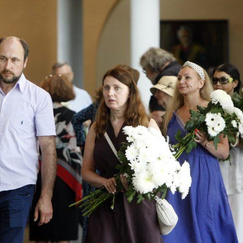 Klaipėda atsisveikino su režisieriumi P. Gaidžiu  © Vytauto Liaudanskio nuotr.