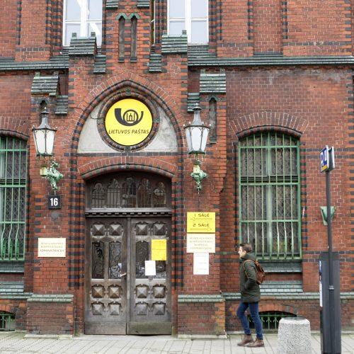 Pasitarimas dėl pašto rūmų Klaipėdoje