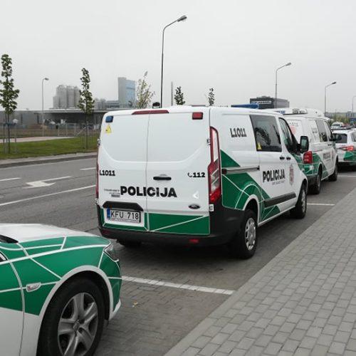 """""""Didžiojo šeimos gynimo maršo"""" dalyvių pasiruošimas Klaipėdoje  © Redakcijos nuotr."""