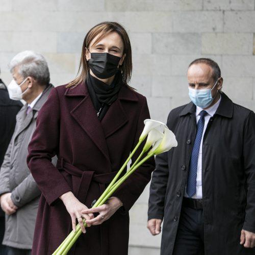 Sostinėje atsisveikinama su anapilin iškeliavusiu K. Glavecku  © P. Peleckio / Fotobanko nuotr.