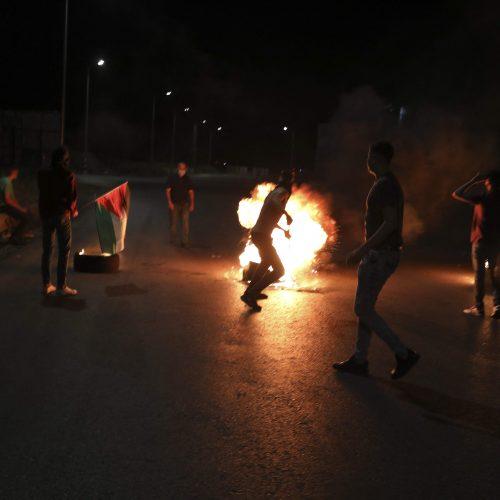 Kruvinos kovos tarp palestiniečių ir Izraelio