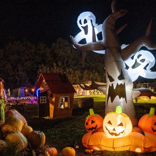 Helovino parkas pakaunėje