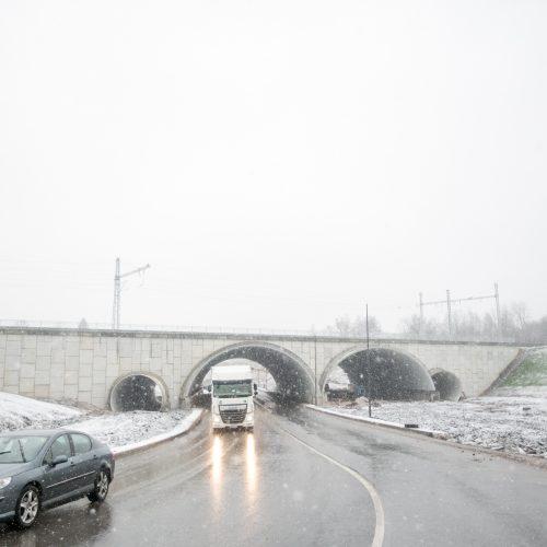 Atnaujintas traukinių eismas tarp Vilniaus ir Kauno  © Vilmanto Raupelio nuotr.