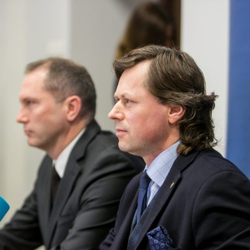 Kauno pareigūnai paviešino tyrimą dėl kyšininkavimo aplinkosaugoje  © Vilmanto Raupelio nuotr.