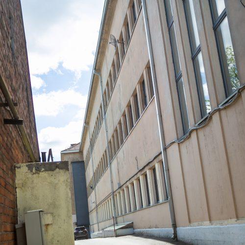 Kaune pro gimnazijos langą iškrito nepilnametis  © Vilmanto Raupelio nuotr.