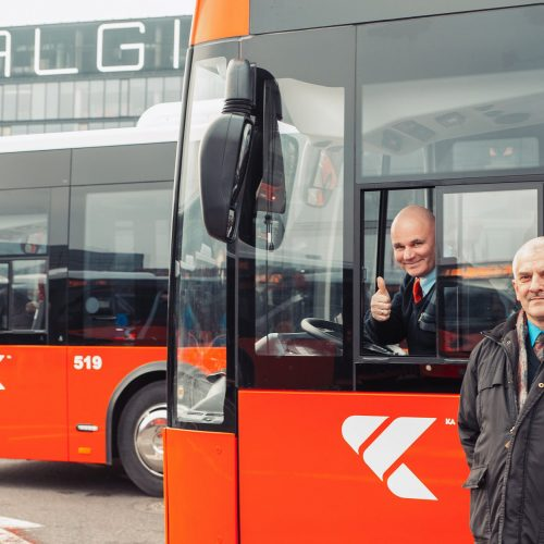 Nauji autobusai Kauno gatvėse  © Kauno miesto savivaldybės nuotr.
