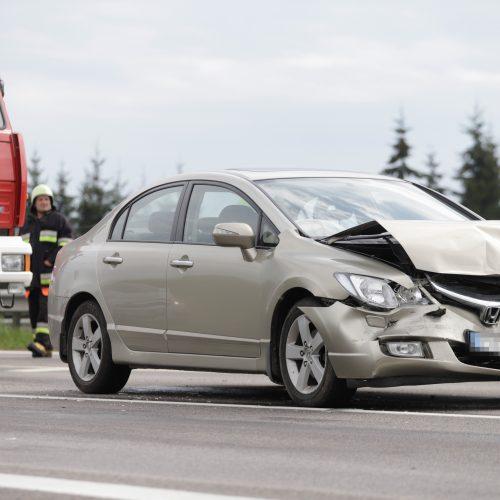 Kelyje link Jonavos – masinė avarija