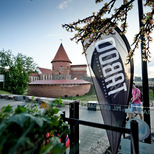 """""""Kauno vasaros terasa"""" ir """"Pilies sodas"""" šventė ketvirtąjį gimtadienį  © tomasfoto.lt nuotr."""