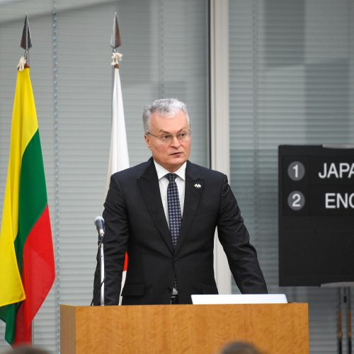 Prezidentas atidarė Lietuvos-Japonijos verslo forumą