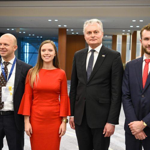 Prezidentas atidarė Lietuvos-Japonijos verslo forumą  © LR Prezidentūros/R. Dačkaus nuotr.