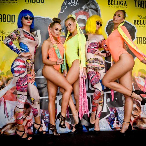 """Taboo"" klube – Ispanijos vakarėlis ""Ibiza grand show"""