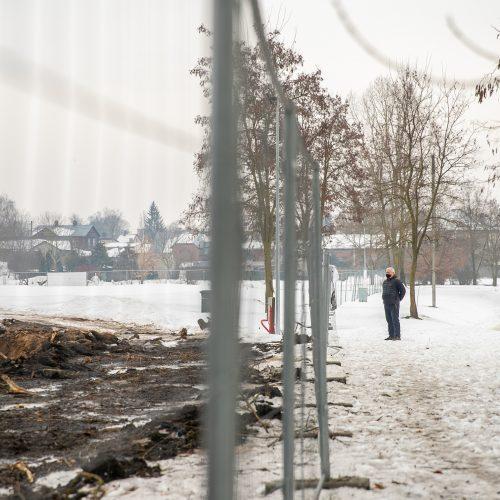 Šančiuose pajudėjo dangoraižių statybos  © Justinos Lasauskaitės nuotr.
