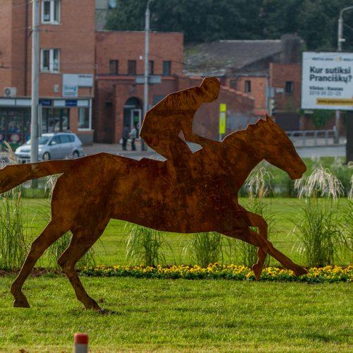 """""""Kauno akcentas"""" prie Kauno pilies  © Laimio Steponavičiaus nuotr."""