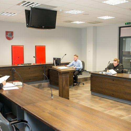 E. Petrauskas ieško tiesos teisme  © Vilmanto Raupelio nuotr.