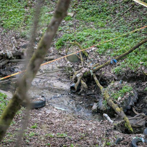 Aleksoto upelyje vėl rasta sprogmenų  © Justinos Lasauskaitės nuotr.