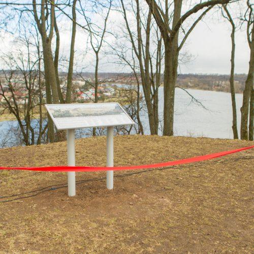 Atidengta Napoleono žygį per Nemuną žyminti lenta  © Laimio Steponavičiaus, Kauno miesto savivaldybės nuotr.