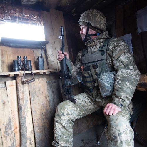 Rytų Ukraina. Gyvenimas prie kontaktinės linijos