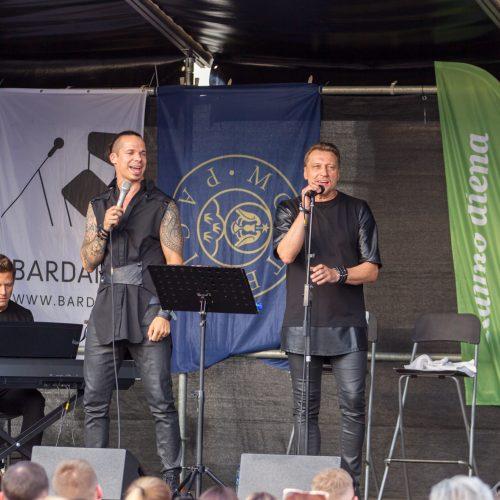 Č. Gabalio ir J. Miliaus koncertas Pažaislyje  © Laimio Steponavičiaus nuotr.