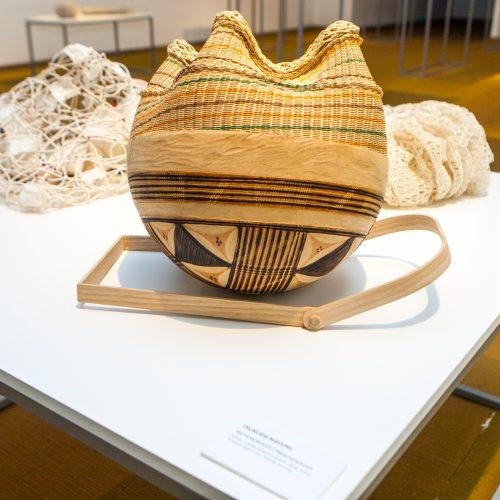 Japonijos pluošto meno paroda  © Laimio Steponavičiaus nuotr.