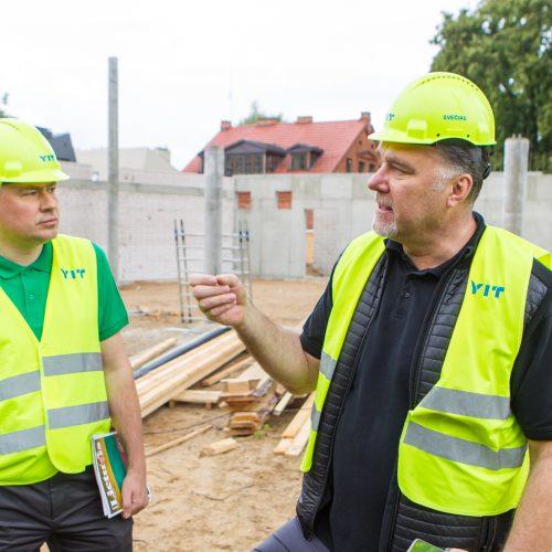 Lietuvos krepšinio namų statybos   © Laimio Steponavičiaus nuotr.