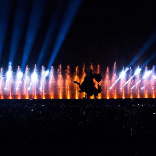 Muzikinis šokančių fontanų ir lazerių šou  © Laimio Steponavičiaus nuotr.