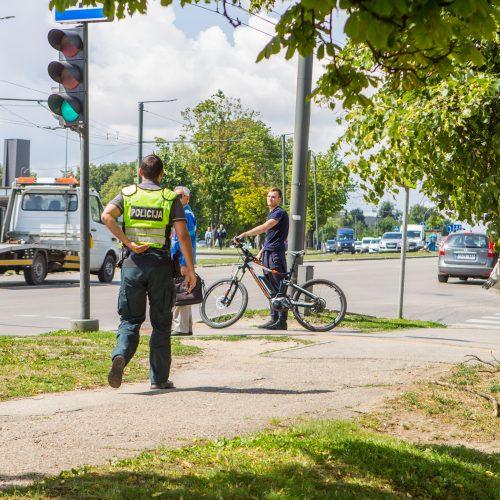 Per reidą – dėmesys dviratininkams ir paspirtukininkams  © Laimio Steponavičiaus nuotr.
