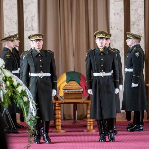Partizanas V. Balsys-Uosis išlydėtas į paskutinę kelionę  © Vilmanto Raupelio nuotr.