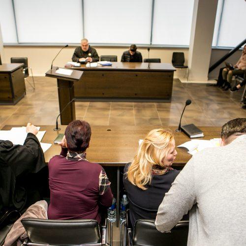 Nužudymu kaltinamo Igno Mauzos teismas  © Vilmanto Raupelio nuotr.