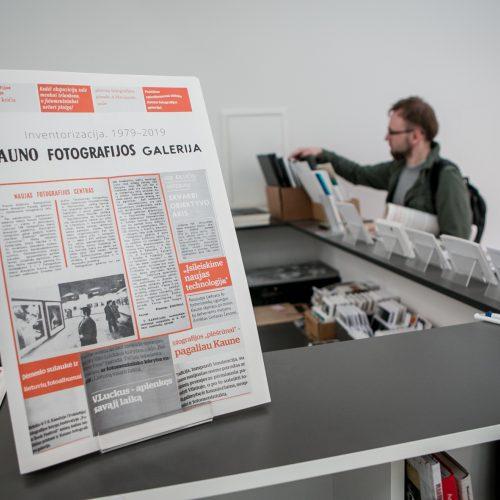 Inventorizacija 1979-2019 Kauno fotografijos galerijoje  © Vilmanto Raupelio nuotr.