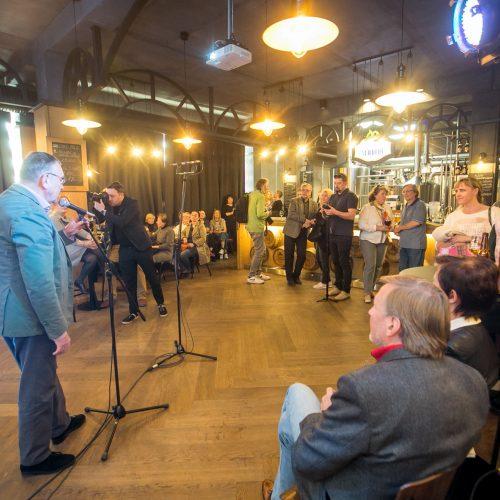 """Kaunas Jazz"" koncertas ""Volfo Engelman studijoje""  © Vilmanto Raupelio nuotr."