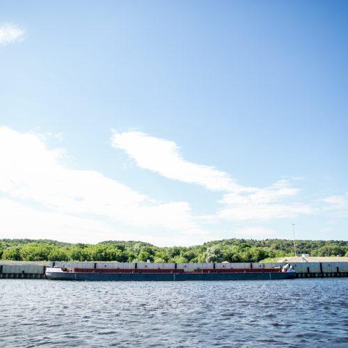 Po Kauno rajoną – laivu  © Vilmanto Raupelio nuotr.