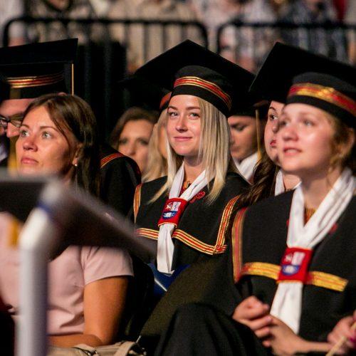 LSMU diplomų įteikimo šventė