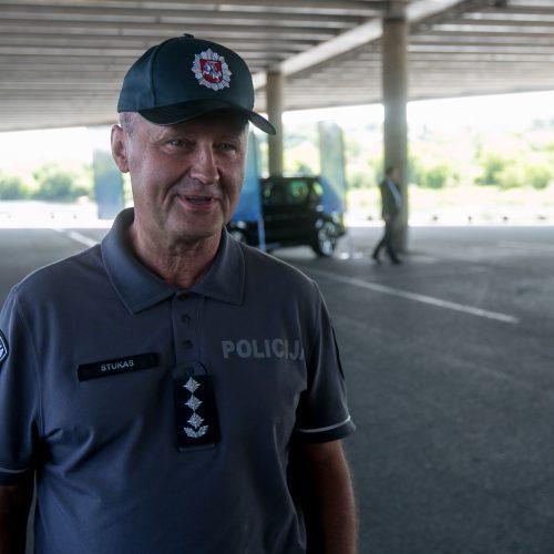 """Policijos projekto """"Saugus kiemas"""" startas  © Vilmanto Raupelio nuotr."""