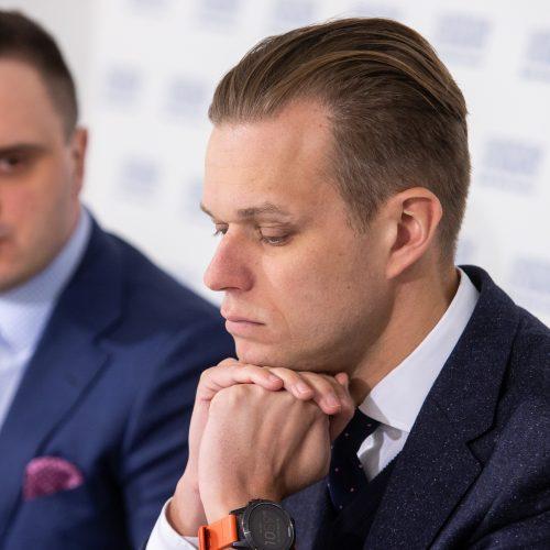 Spaudos konferencija po savivaldos rinkimų  © P. Peleckio / Fotobanko nuotr.
