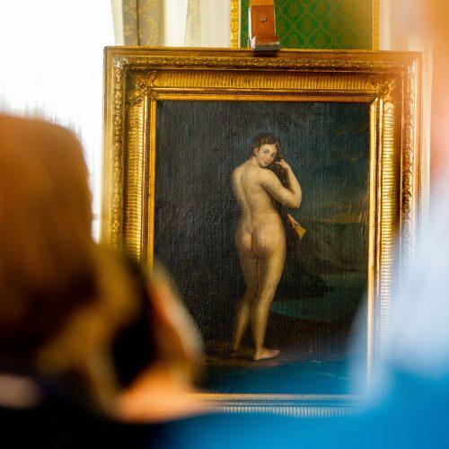"""Pristatytas J. Rustemo paveikslas """"Veneros gimimas"""""""
