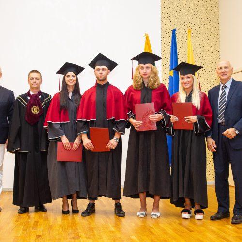 VDU diplomų teikimo šventė