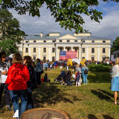 JAV Nepriklausomybės dienos šventė Verkių rūmuose  © I. Gelūno / Fotobanko nuotr.