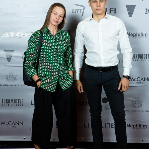 """I. Jonyno filmo """"Nematoma"""" nacionalinė premjera  © G. Skaraitienės / Fotobanko nuotr."""