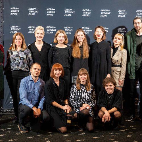 "Festivalio ""Nepatogus kinas"" apdovanojimų ceremonija  © I. Gelūno / Fotobanko nuotr."