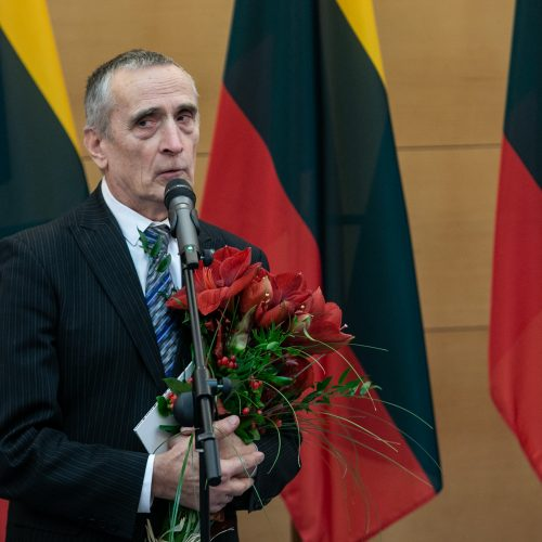 Baltų apdovanojimo teikimo ceremonija  © P. Peleckio / Fotobanko nuotr.