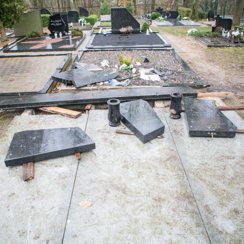 Išniekintos Seniavos kapinės