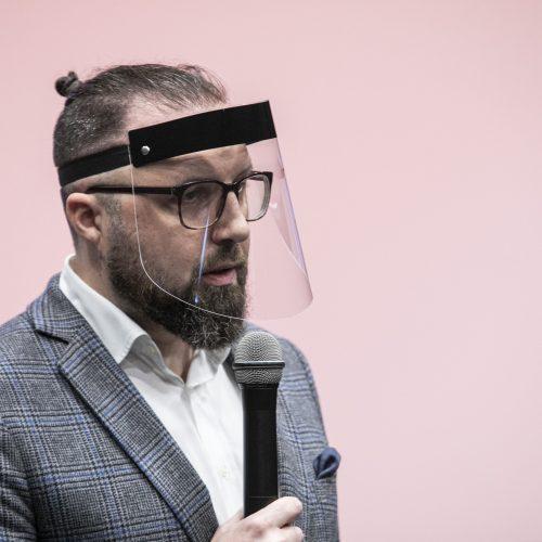 """""""Sidabrinės gervės"""" spaudos konferencija  © P. Peleckio / Fotobanko nuotr."""