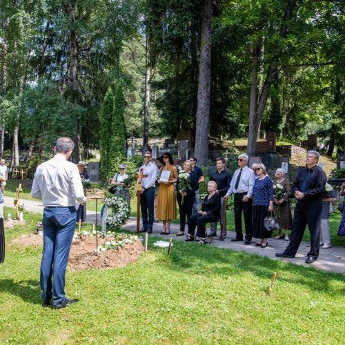 J. G. Baranausko laidotuvės