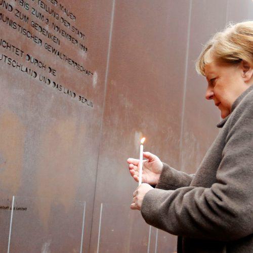 Berlyno sienos griūties 30-mečio minėjimas Vokietijoje